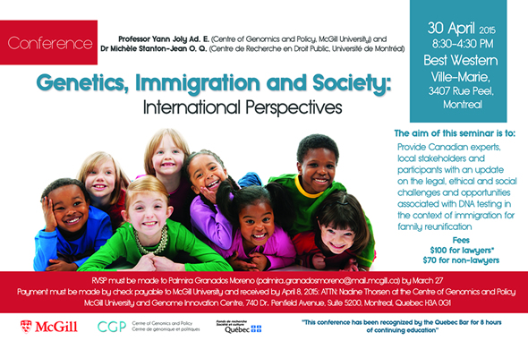 Genetics, Immigration and Society: International Perspectives